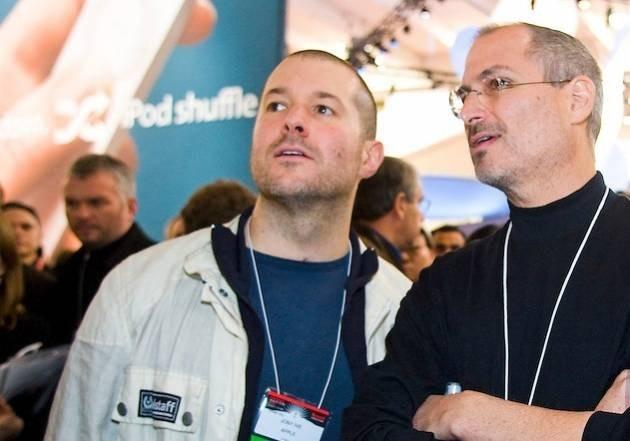 Jony Ive and Steve Jobs