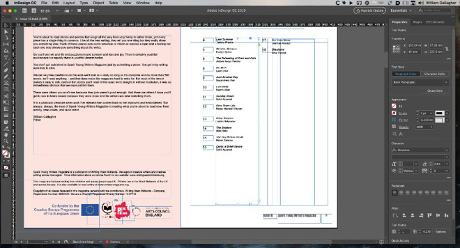 We're not saying we're the best InDesign users, but we are saying InDesign itself is very good.