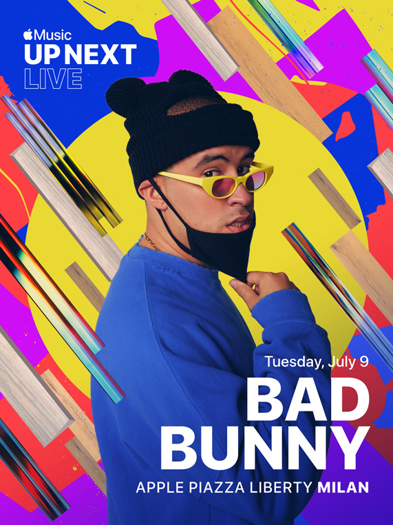 Bad Bunny Apple Music Up Next