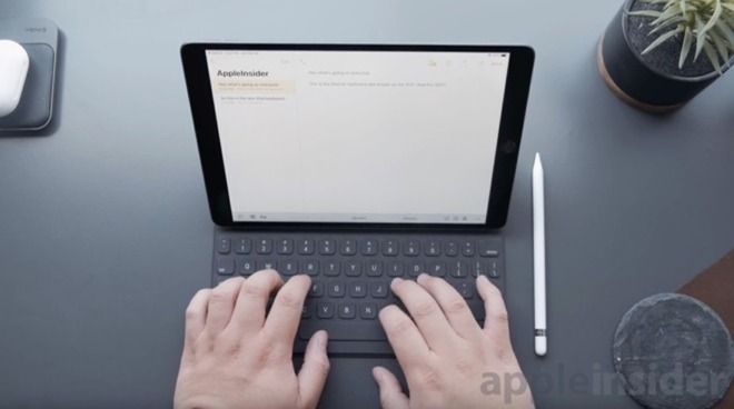 Apple iPad with Smart Keyboard Folio