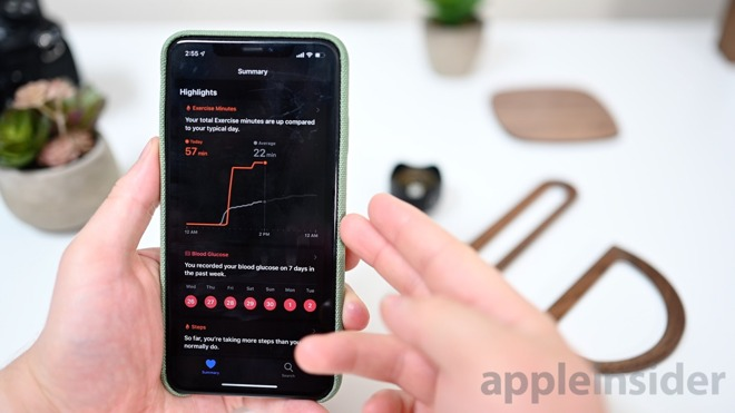 Health insights in iOS 13 beta 3
