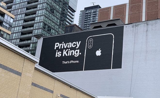 Apple's iPhone Privacy ad Campaign Continues with new Billboards