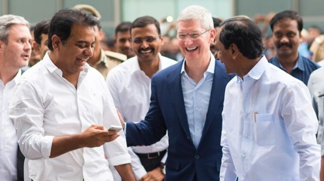 Apple drives both premium iPhone sales, global production in India