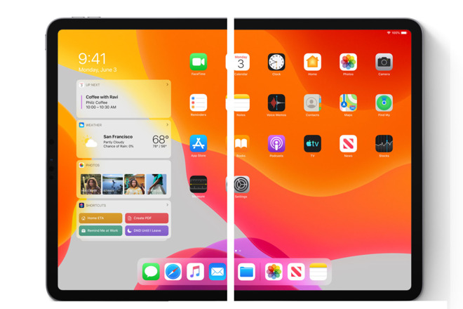 A mockup of a foldable iPad that's as good as any other