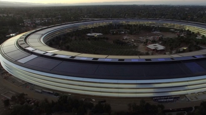 Apple Park, the company's only great design from the last 15 years according to Steve Jobs biographer Walter Isaacson