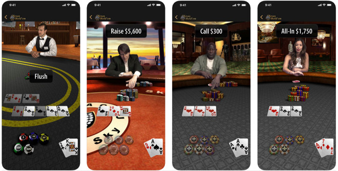 Apple Texas Hold'em for iPhone