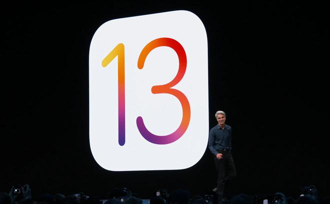 Apple's iOS 13 logo