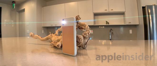 iPhone XR with Sandmarc Anamorphic