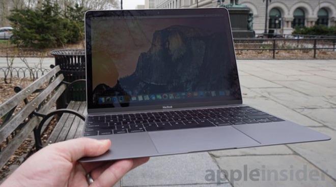 Apple 12 inch MacBook in Gray