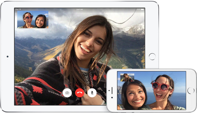 FaceTime, a technology that became the subject of a patent lawsuit against Apple by VirnetX