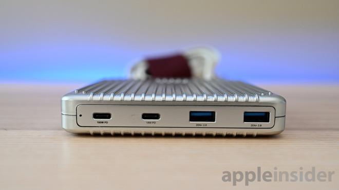 Zendure SuperPort has a 100W USB-C Port, an 18W USB-C Port, and two USB-A ports