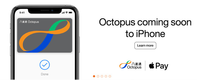 Apple Pay for Octopus in Hong Kong