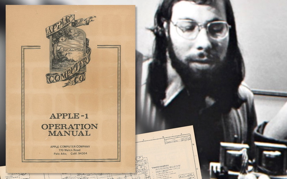 photo of Original Apple-1 manual sells for $12,956 at auction image