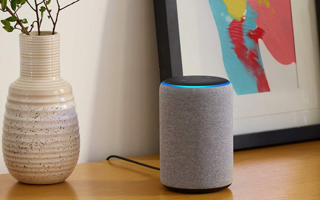 The second-generation Echo Plus.