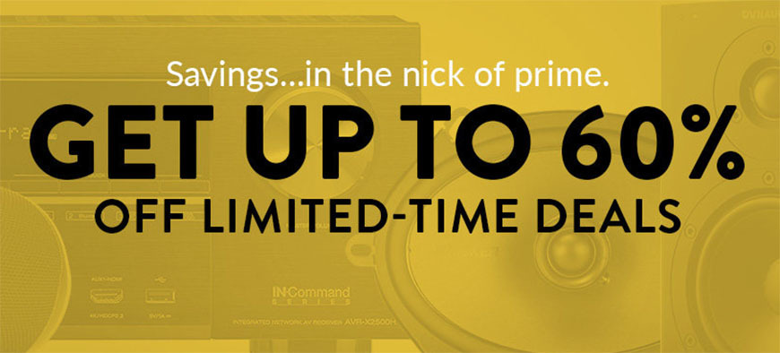 World Wide Stereo Prime Day sale