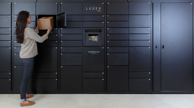 Luxer One parcel lockers