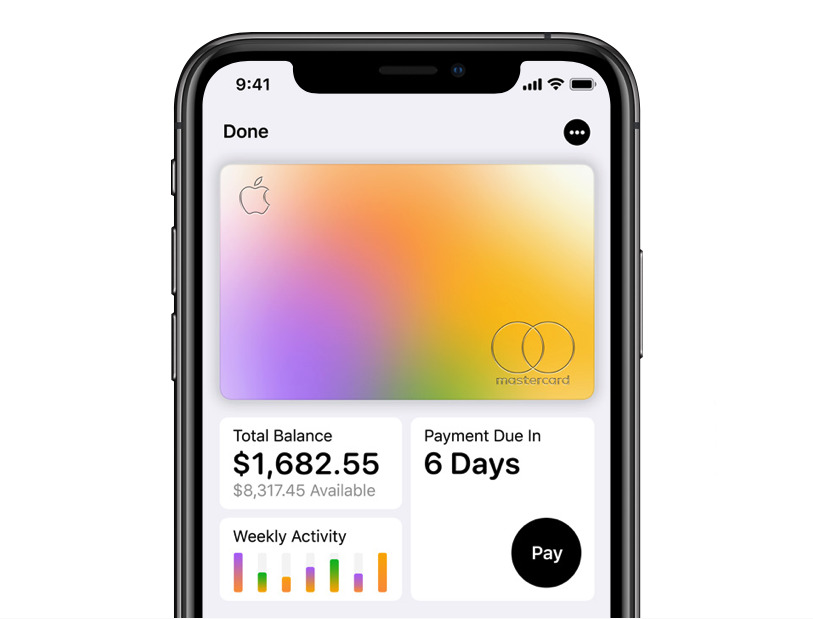 Every detail of your spending will be right there in your Wallet app whenever you need it