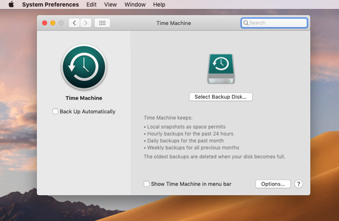 Time Machine only lets you easily  choose one backup destination