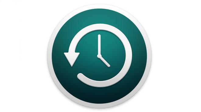Apple's Time Machine logo