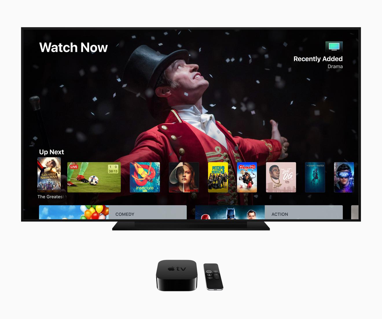 Apple releases tvOS 12.4 for Apple TV HD, Apple TV 4K