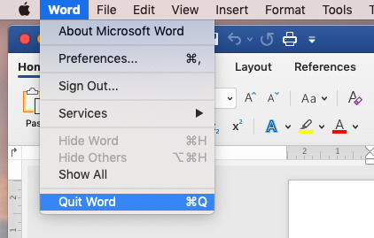 It's worth a shot. Even if the Quit menu is grayed out, try the Command-Q keystroke and wait.