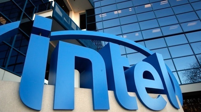 Intel office building sign