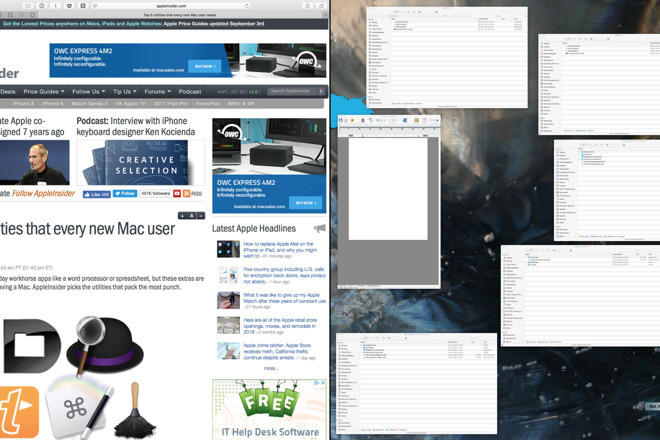 Apple's Split View on the Mac is useful but confusing, especially as you get in and out of it.