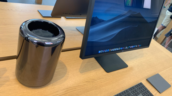 Apple dropped the 2013 Mac Pro from its website in June 2019, but it was still in some stores in July.