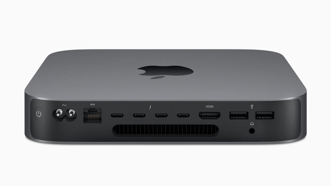 Mac mini has T2, but it can't use the chip's