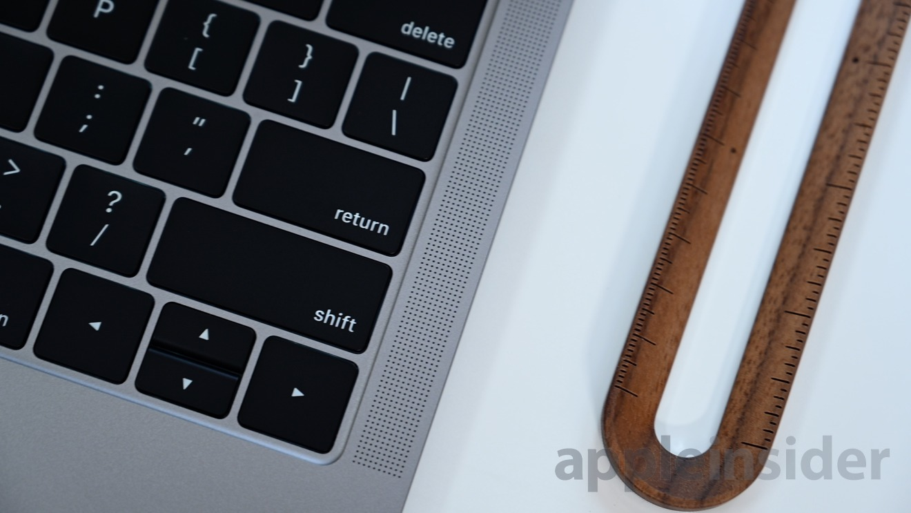 The 2019 MacBook Air has an updated keyboard