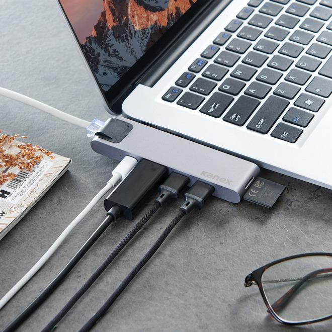 Kanex 7-in-1 iAdapt USB-C hub with Ethernet