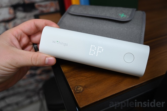 Withings BPM Connect takes BP readings with ease -- and without your phone
