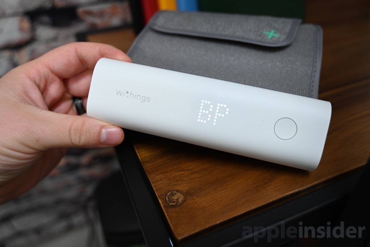 Withings BPM Connect takes BP readings with ease —  and without your phone