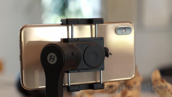 Feiyu Vlog Pocket with iPhone XS Max