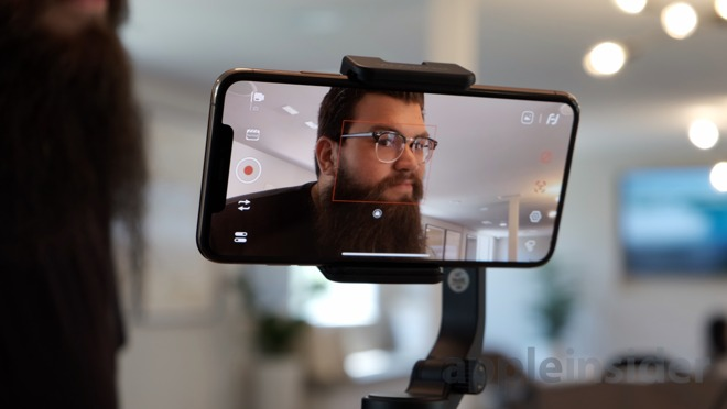Face tracking on the Vlog Pocket