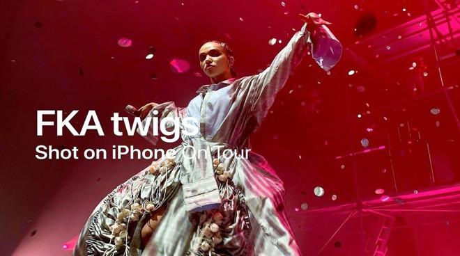 FKA Twigs shot on iPhone header