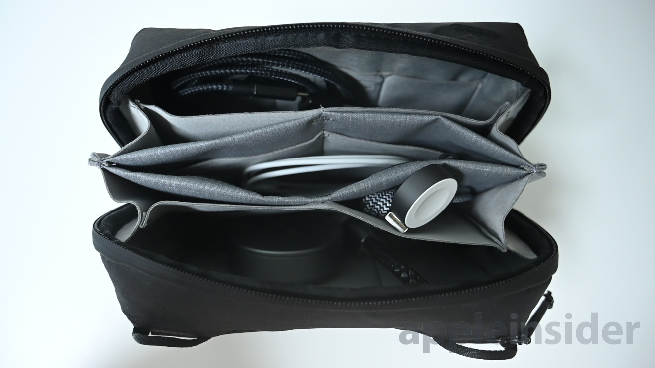 Native Union Belt cable looks great in our Peak Design Tech Pouch