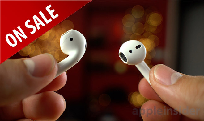Apple AirPods on sale