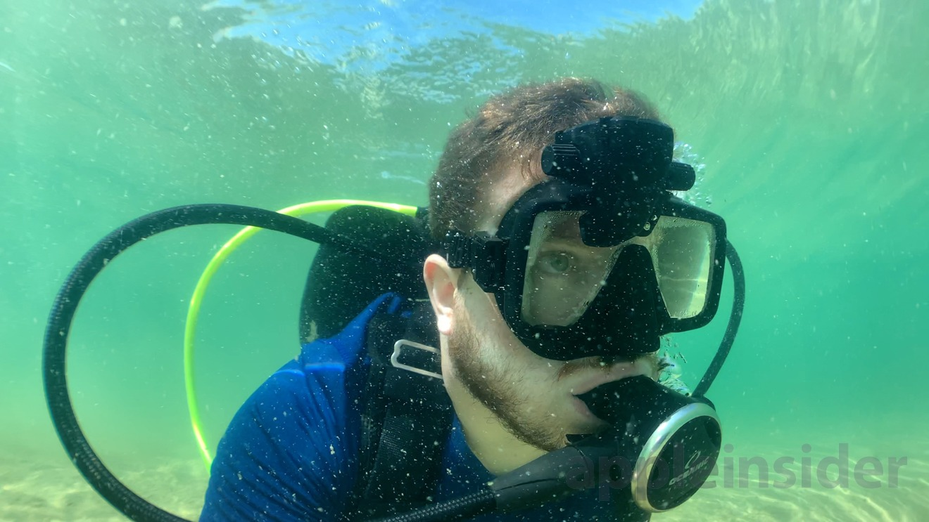 Diving with the SCUBAPro Galileo HUD