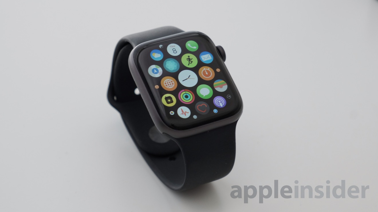 Apps on the Apple Watch Series 4