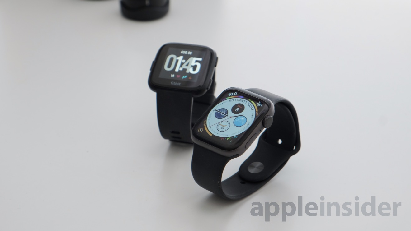 When comparing the Apple Watch vs Fitbit Versa, battery is a primary concern