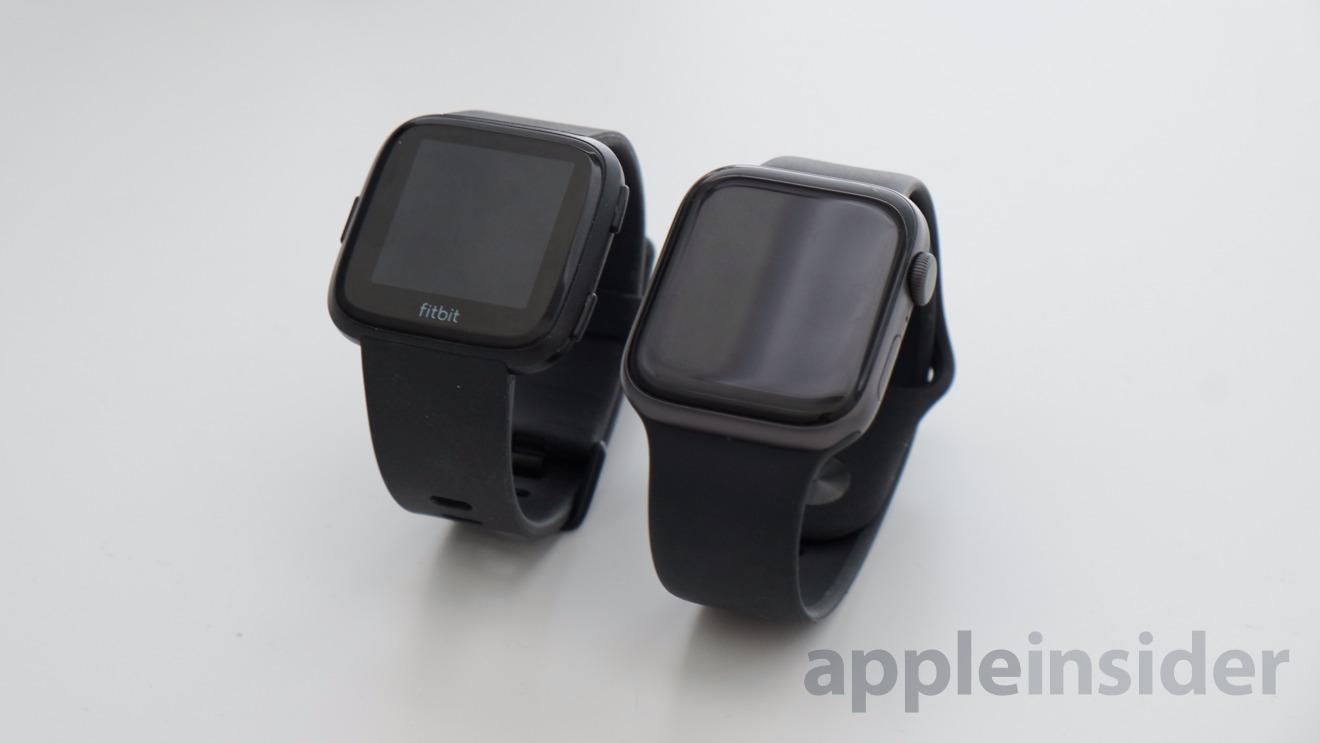 Apple Watch vs Fitbit Versa: Fitness Tracking Watch Comparison