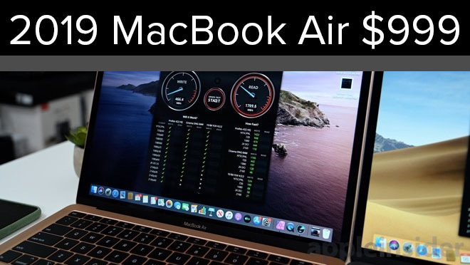 MacBook Air on sale for $999
