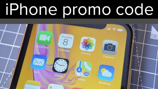 iPhone promo code