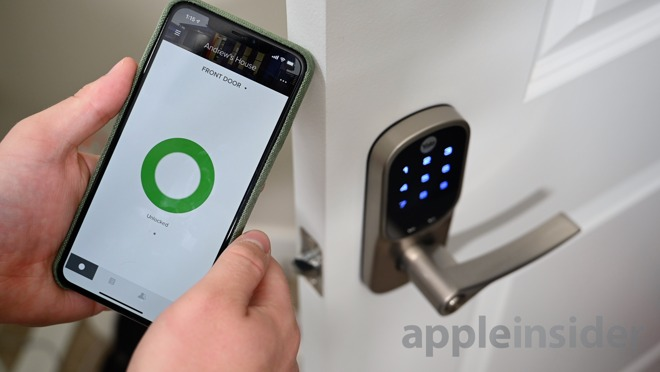 Unlocking the Assure Lever with the August app