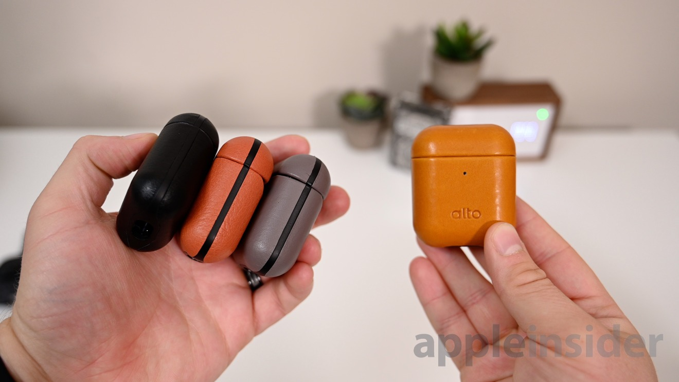 Alto Italian leather AirPods cases