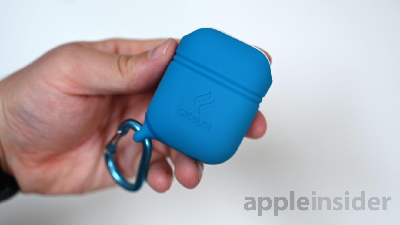 The Catalyst AirPods case is water tight and drop-proof