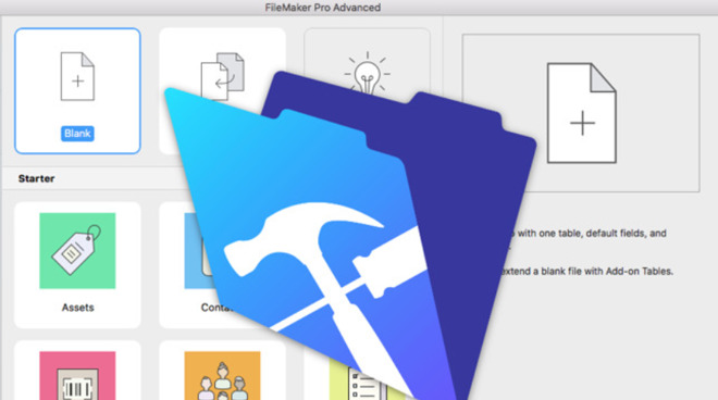 While the company is rebranding as Claris, the FileMaker Pro app keeps its name