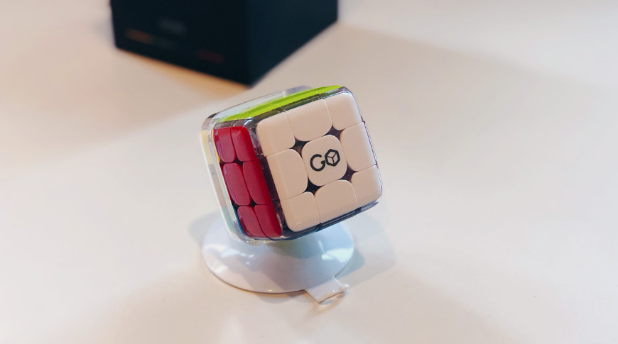 GoCube on Charging Stand