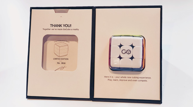 GoCube in Packaging